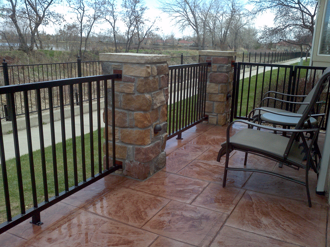 Stamped Concrete Patios Outdoor